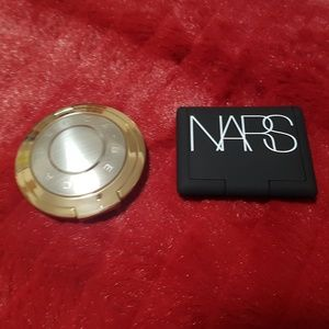 Mini Becca Highlighter and Nars Blush
